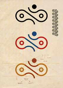 Balaram and Radhska symbol