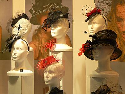 assorted women's hats