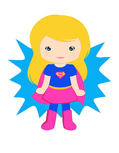 Supergirl illustration