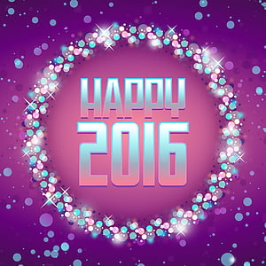 happy 2016 clip art