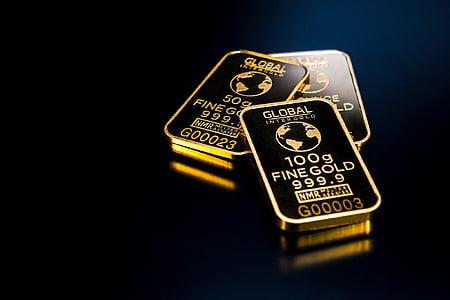 photo of three Global fine golds