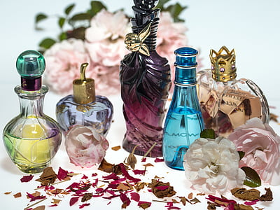 photo of fragrance bottle collection