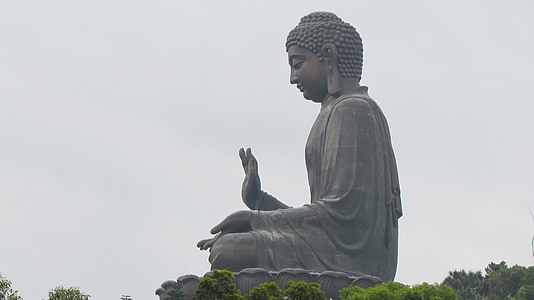 Buddha statue at daytime