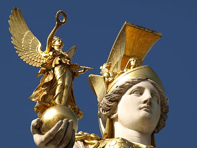 photo of gladiator statue
