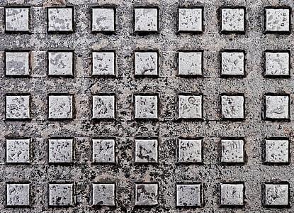 square gray frame