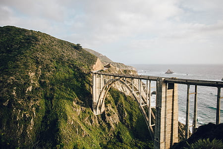 bridge, highway, street, road, architecture, transport