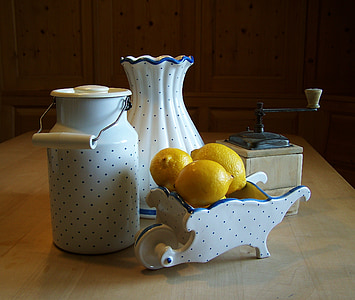 white ceramic jar and vase