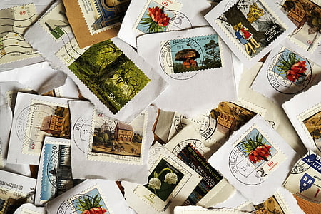 postage stamp lot