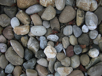 top view photo of assorted stones