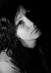 photo of portrait woman