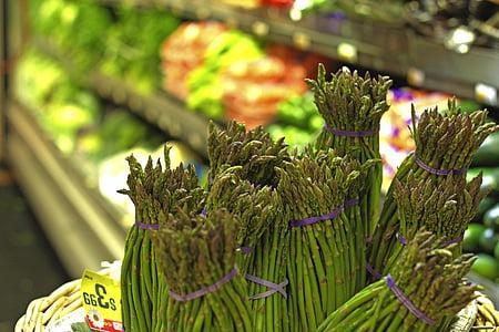 bundle of asparagus lot