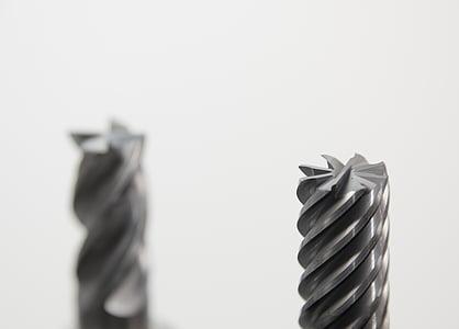 gray drill bit