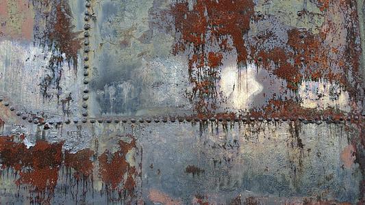 rust, steel, texture, iron, vintage