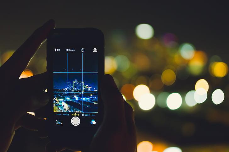 smartphone night mode