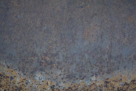 steel, rust, grunge, texture, old, metal