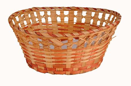 brown woven basket