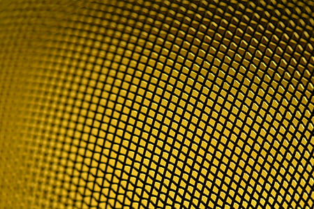 grid, sieve, colander, lighting, structure, yellow