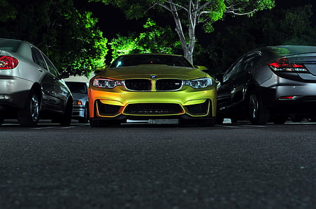 green BMW E90