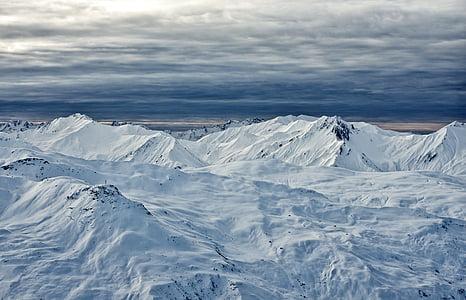 photo of glacier mountain