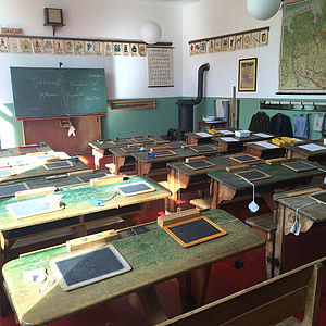 school classroom during daytime