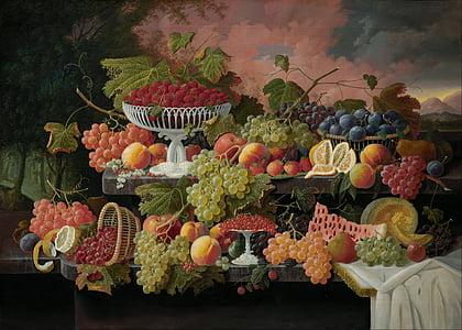 assorted fruits illustration