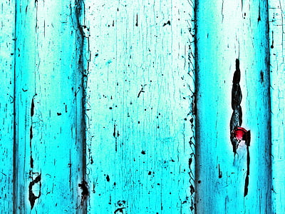 door, turquoise, blue, background, structure, wood