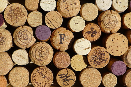 brown cork lid lot