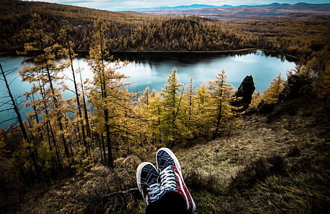 travel, aershan, shoes, lake, autumn, shoe