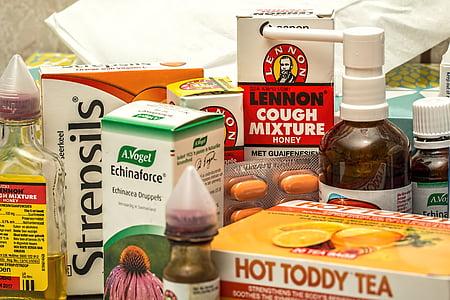 Lennon cough mixture honey box