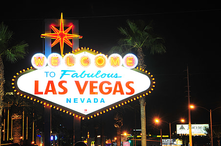Las Vegas Nevada Welcome signage