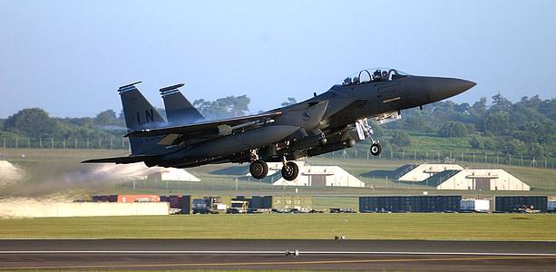black Fighter aircraft