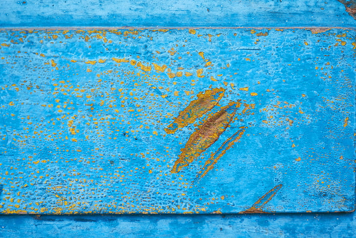 wood, wooden, blue, old, dirty, texture