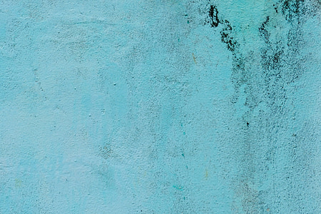 wall, abstract, concrete, blue, light blue, texture