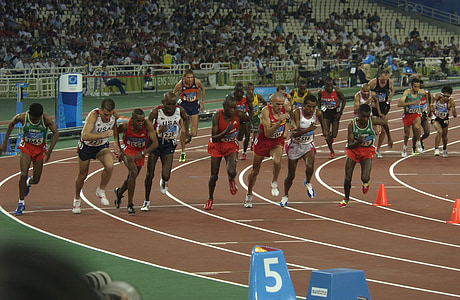 photo of athletes