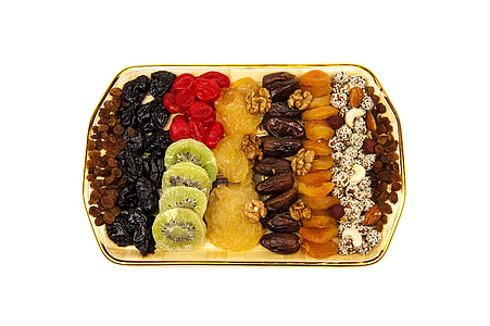 assorted fruits on tray