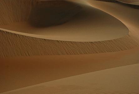 photo of brown desert