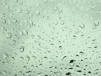 texture, rain, water, raindrop, drip