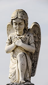 white angel statue