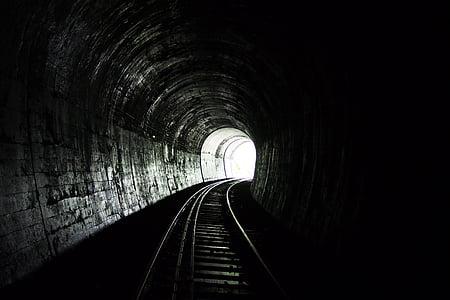 gray train railway