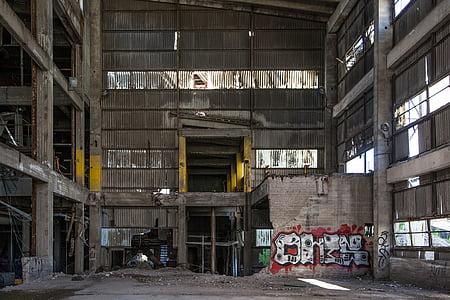 gray concrete building interior