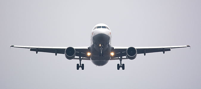 photo of airplane flying